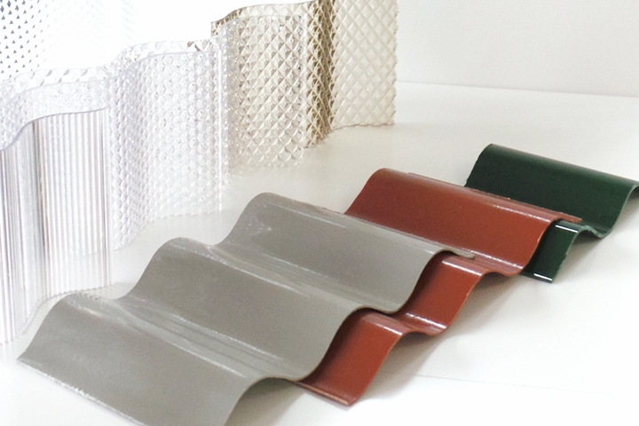 Lastre ondulate ondacryl for Lastre vetro sintetico